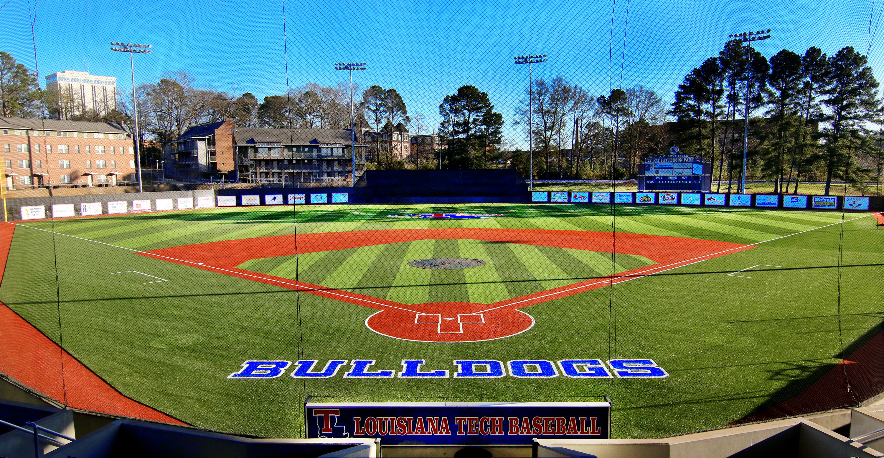 La Tech University >> J C Love Field At Pat Patterson Park La Tech Athletics