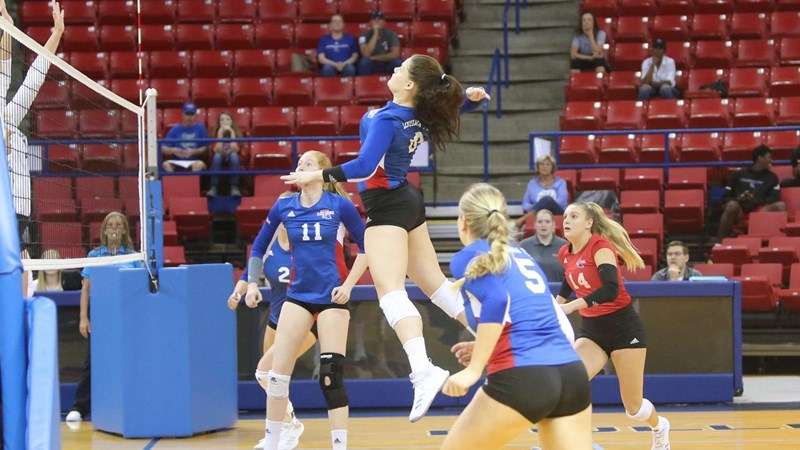 Adams Recognized on C-USA Volleyball All-Academic Team - Louisiana Tech University