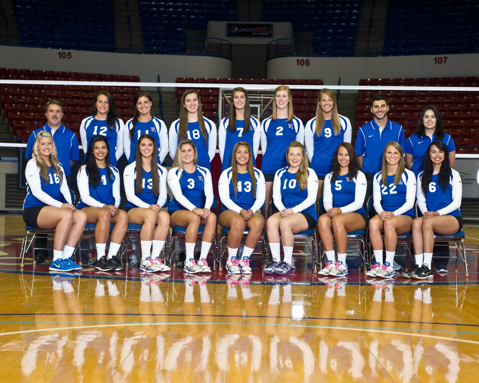 2012 Women S Volleyball Roster La Tech Athletics